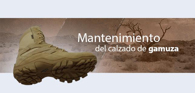 Mantenimiento preventivo de calzado en cuero liso y gamuza
