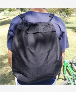 Tula o bolso manos libres color negra