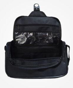 Bolso para kit de aseo personal, elaborado en lona de alta resistencia e impermeable