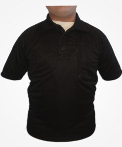 Elaborada en poliéster ligero, transpirable, cómodo para el entrenamiento, diseñado para uso extremo y táctico, tela de secado rápido, cuello de solapa.