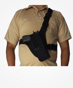 Chapuza pechera táctica para pistola, ajustable a espalda y pecho. Seguros del arma ajustables para diferentes modelos, perfectos terminados.